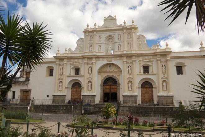 Rudy Giron: Antigua Guatemala &emdash; New Look of the Façade of the Cathedral of Antigua Guatemala