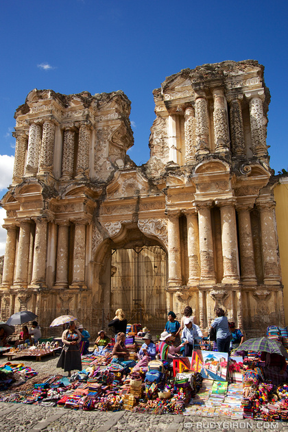 Rudy Giron: Antigua Guatemala &emdash; Ruinas del Carmen, Antigua Guatemala