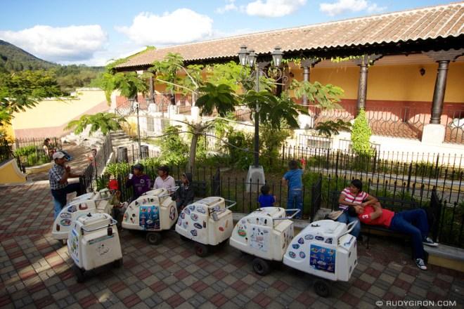 Rudy Giron: Antigua Guatemala &emdash; Ice Cream Cart Vendors Taking a Break