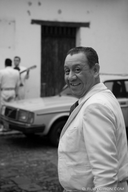 Rudy Giron: Antigua Guatemala &emdash; El Mariachi, Antigua Guatemala © Rudy Giron