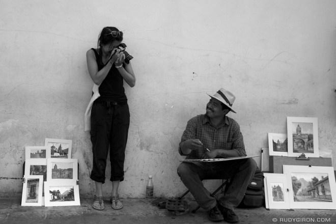 Rudy Giron: Antigua Guatemala &emdash; Visual Duel in Antigua Guatemala