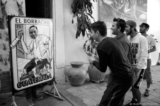 Rudy Giron: Antigua Guatemala &emdash; El Borracho, Antigua Guatemala