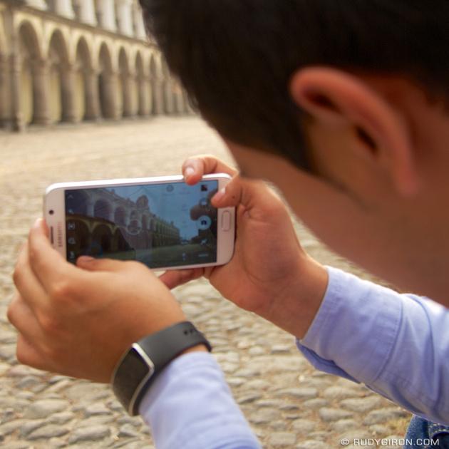 Rudy Giron: Instagrams &emdash; Capturing the Palacio Real