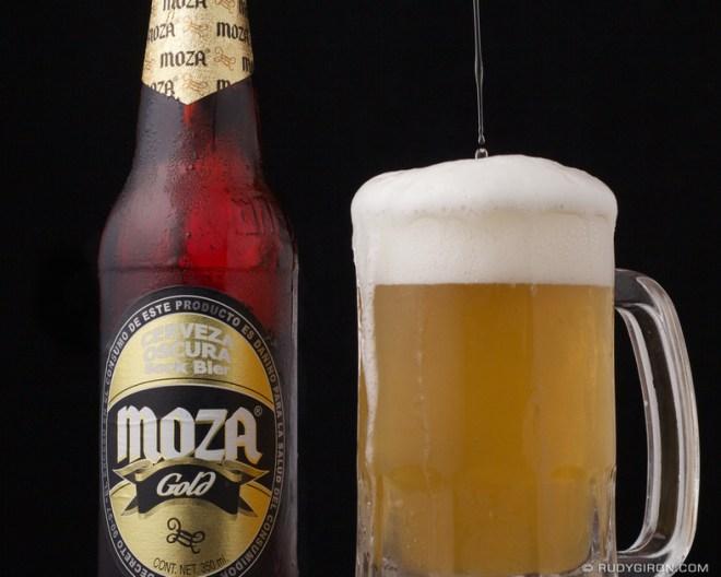 Rudy Giron: Antigua Guatemala &emdash; © Guatemalan Beer: Moza Gold by Rudy Giron