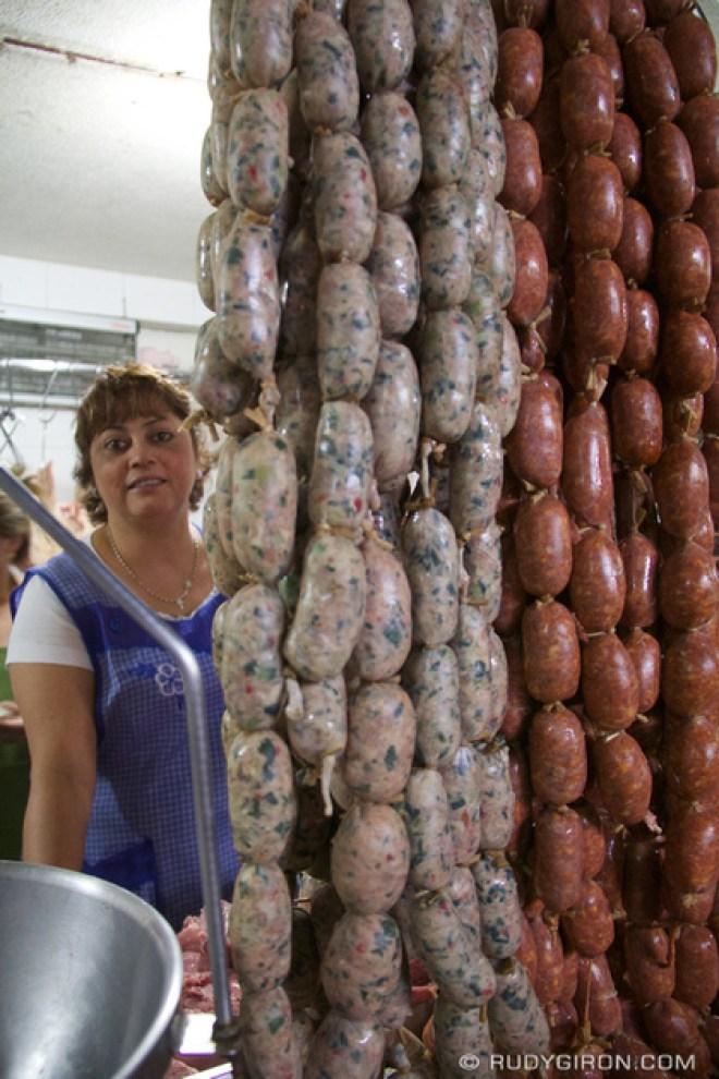 Rudy Giron: Antigua Guatemala &emdash; © Guatemalan Longanizas and Chorizos at the Mercado Central, Antigua Guatemala by Rudy Giron