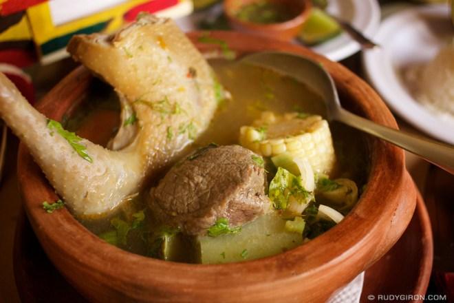 Rudy Giron: Guatemalan gastronomy &emdash; Guatemalan Food: Sancocho