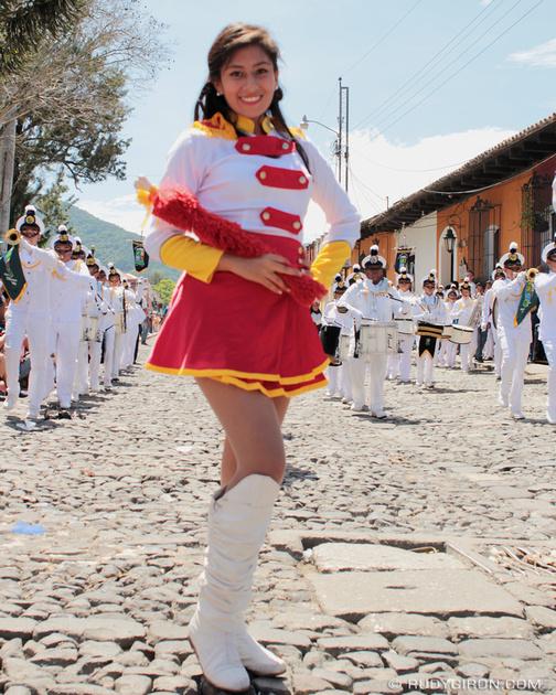 Rudy Giron: Antigua Guatemala &emdash; School Parades on Día de Santiago