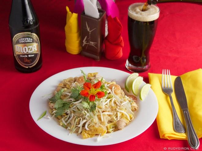 Rudy Giron: Antigua Guatemala &emdash; Pad Thai from Café Flor, Antigua Guatemala