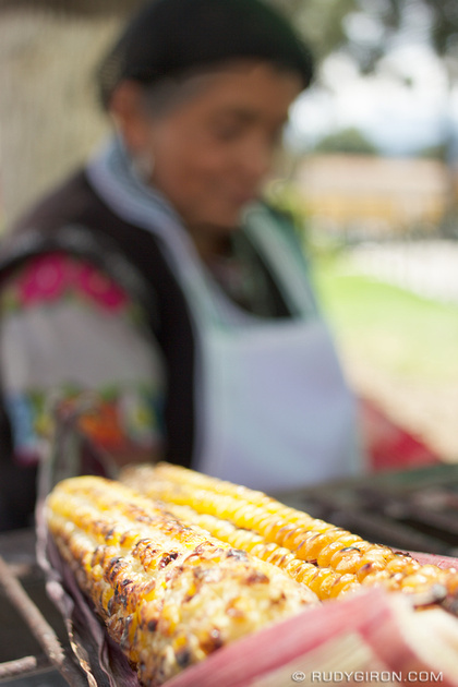 Rudy Giron: Antigua Guatemala &emdash; Street Food: Elotes Asados