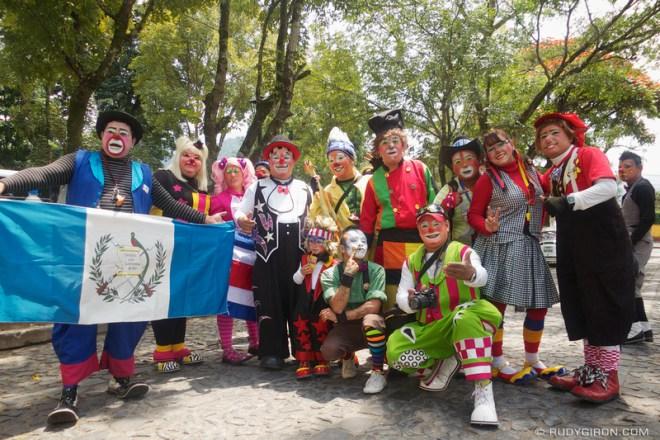 Rudy Giron: Antigua Guatemala &emdash; Encounters of The Third Kind in La Antigua Guatemala