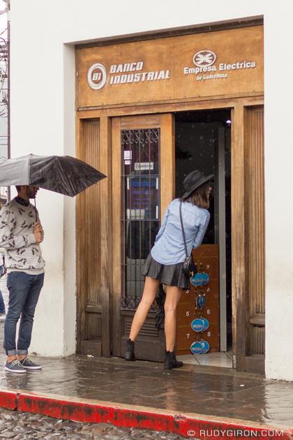 Rudy Giron: Antigua Guatemala &emdash; Rainy Season Vistas: What was she asking?
