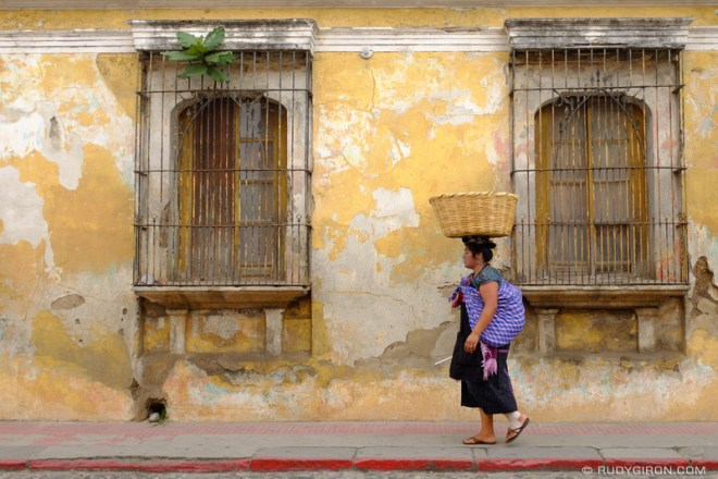 Rudy Giron: Antigua Guatemala &emdash; Walking Still The Best Way to Move Around Antigua Guatemala