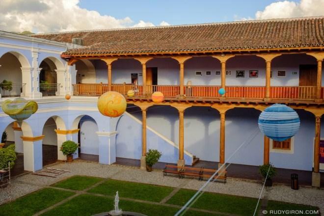 Rudy Giron: Antigua Guatemala &emdash; Planets and Constellations at Compañía de Jesús Building
