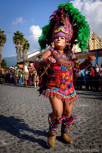 Rudy Giron: Antigua Guatemala &emdash; Convite Costume Dance from San Pedro Las Huertas 3