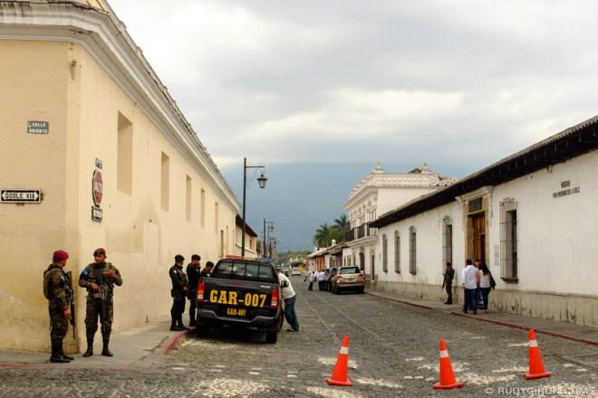 Rudy Giron: Antigua Guatemala &emdash; Presidential House in Antigua Guatemala