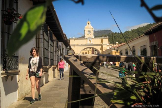Rudy Giron: Antigua Guatemala &emdash; Weekends At Calle del Arco, Antigua Guatemala