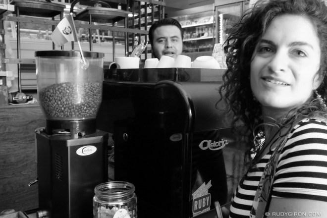 Rudy Giron: Antigua Guatemala &emdash; Fat Cat is my favorite cafe in Antigua Guatemala, she said