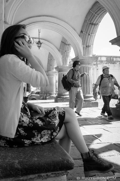 Rudy Giron: Antigua Guatemala &emdash; Taking a break to call home