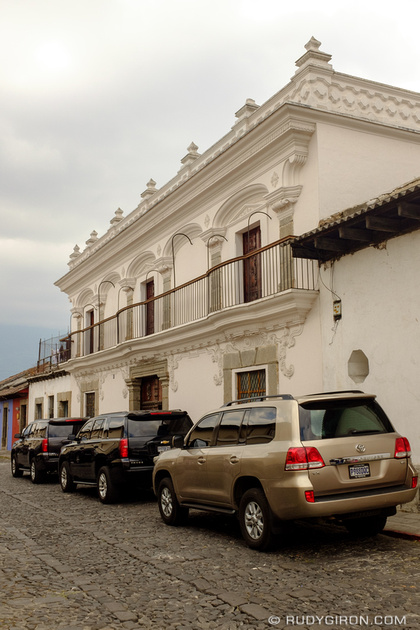 Rudy Giron: Antigua Guatemala &emdash; The Presidential House in Antigua Guatemala