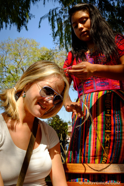 Rudy Giron: Antigua Guatemala &emdash; Braiding my hair in Antigua Guatemala