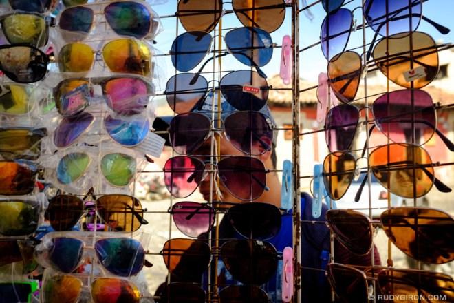 Rudy Giron: Antigua Guatemala &emdash; Ambulant Sunglasses Vendor in Antigua Guatemala