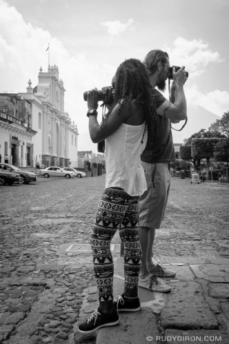 Street Portraits of Strangers in Antigua Guatemala by Rudy Giron