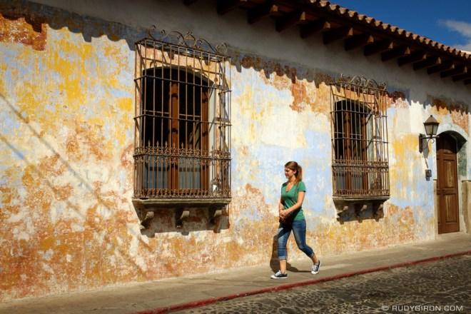 Rudy Giron: Antigua Guatemala &emdash; Textured Walls of Antigua Guatemala by Rudy Giron