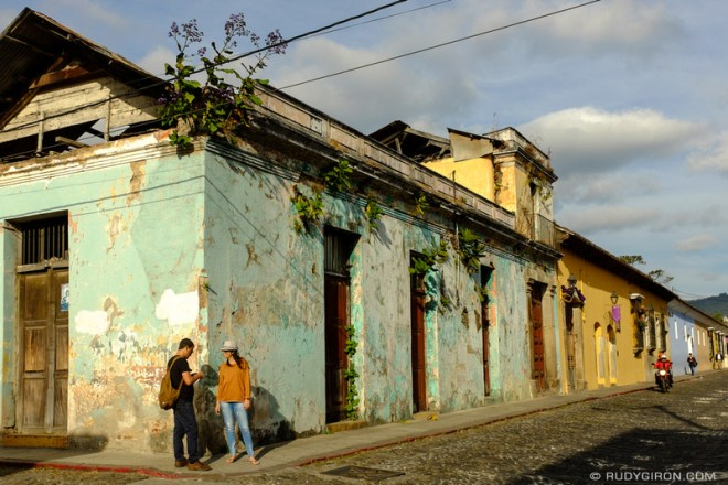 Rudy Giron: Antigua Guatemala &emdash; Green Corner from Antigua Guatemala