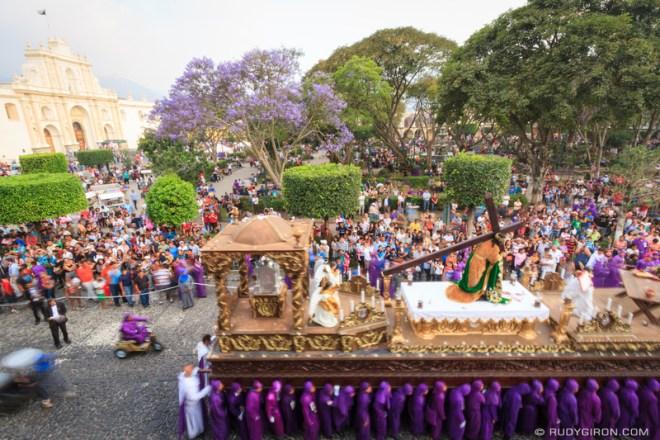 Rudy Giron: Antigua Guatemala &emdash; Holy Week Processions — Jesús del Perdón from San Francisco El Grande 3