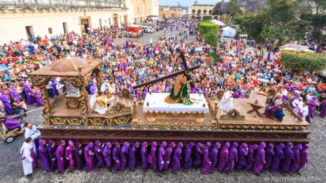 Rudy Giron: Antigua Guatemala &emdash; Holy Week Processions — Jesús del Perdón from San Francisco El Grande 1