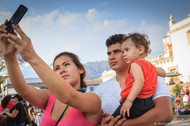 Rudy Giron: Antigua Guatemala &emdash; Selfie Generation During The Holy Week