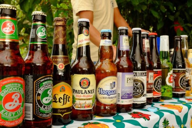 Rudy Giron: Antigua Guatemala &emdash; Beer Choices in Guatemala
