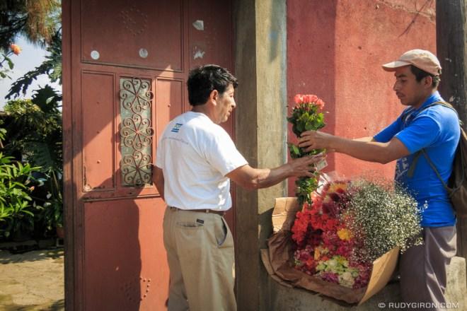 Rudy Giron: Antigua Guatemala &emdash; The Flower Transaction