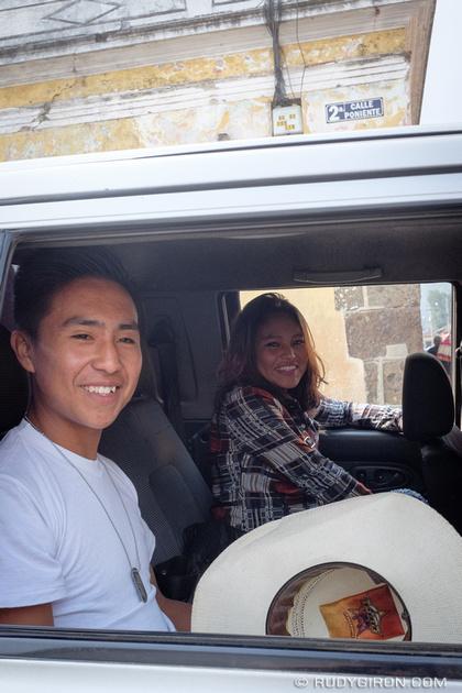 Rudy Giron: Antigua Guatemala &emdash; Happy Smiling Guatemalan Faces