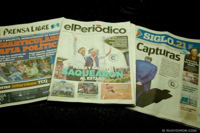 Rudy Giron: Antigua Guatemala &emdash; Jueves de CICIG
