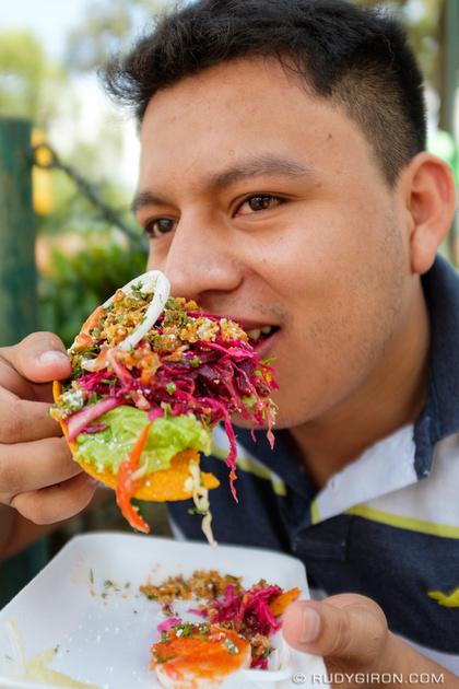 Rudy Giron: Antigua Guatemala &emdash; Sunday Enchiladas from La Merced