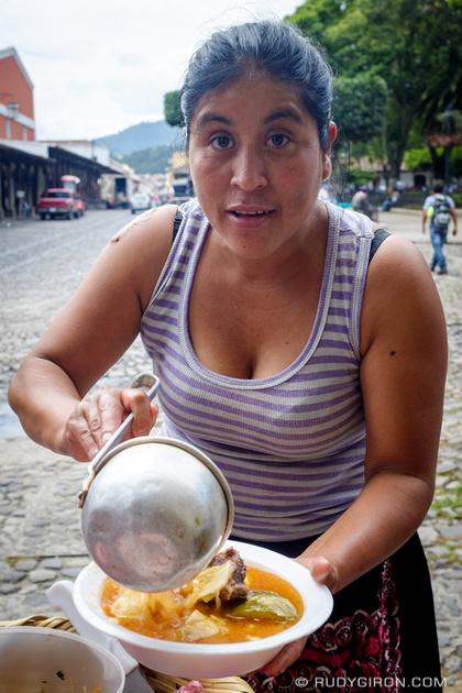 Rudy Giron: Antigua Guatemala &emdash; Street Food Vendors