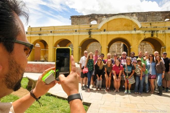 Rudy Giron: Antigua Guatemala &emdash; Guatemalan Guide Carlos Mijangos at Work