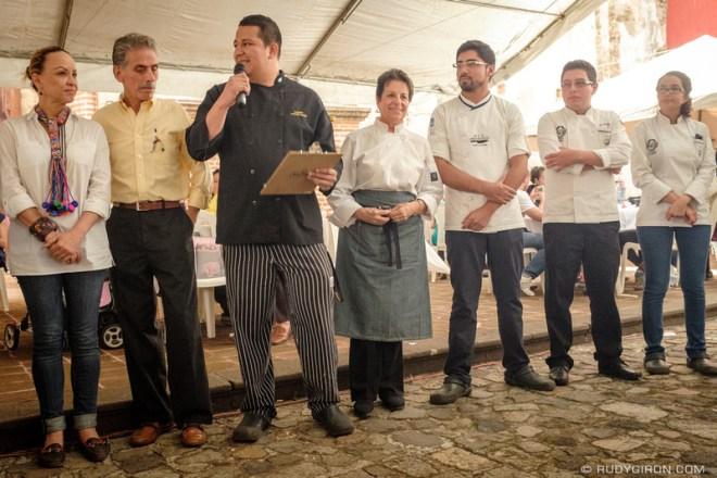 Rudy Giron: Antigua Guatemala &emdash; Food Festival - The Judges