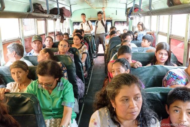 Rudy Giron: Antigua Guatemala &emdash; Inside Peek Into The Public Transportation Buses in Antigua Guatemala