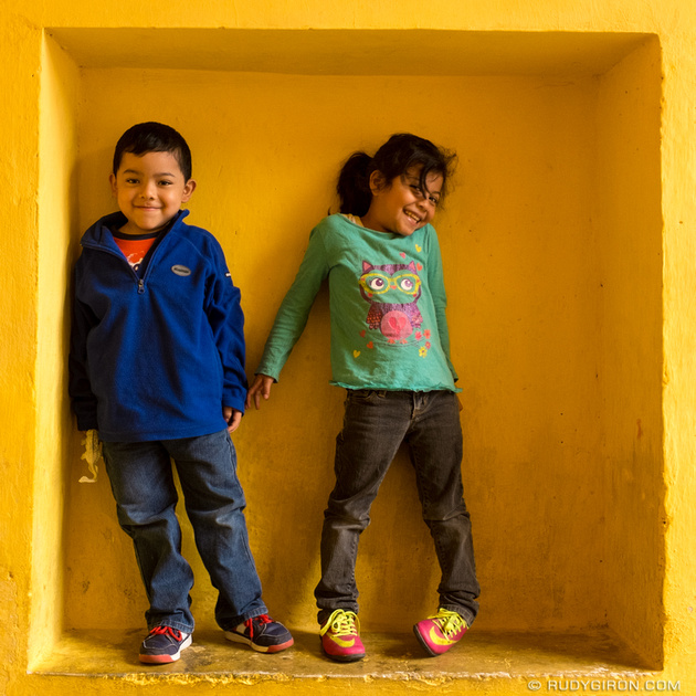 Rudy Giron: Antigua Guatemala &emdash; Instagram-ready Natural Yellow Frame