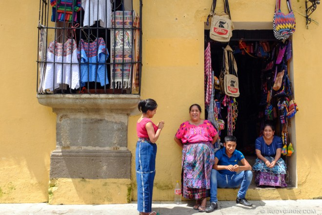 Rudy Giron: Antigua Guatemala &emdash; Family Business Meeting
