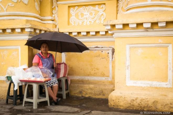 Rudy Giron: Antigua Guatemala &emdash; Selling Guatemalan Empanadas at La Merced