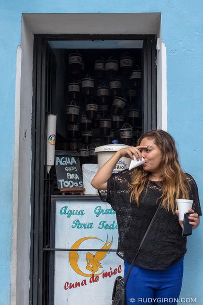 Rudy Giron: Antigua Guatemala &emdash; Free Water For All in Antigua Guatemala