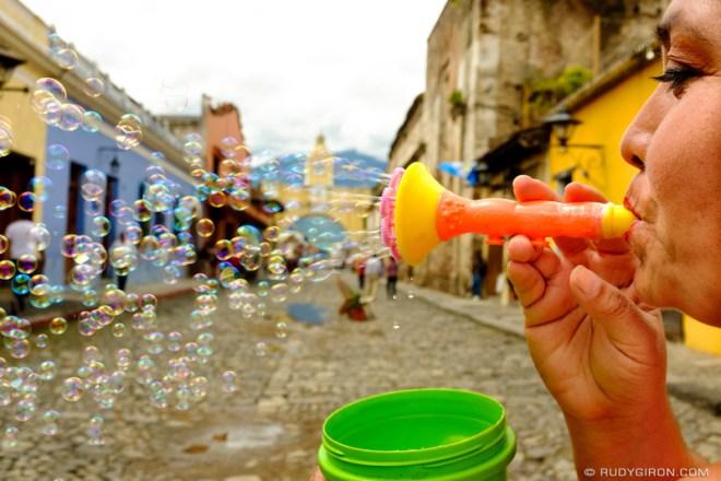 Rudy Giron: Antigua Guatemala &emdash; Colorful Post Card from Antigua Guatemala