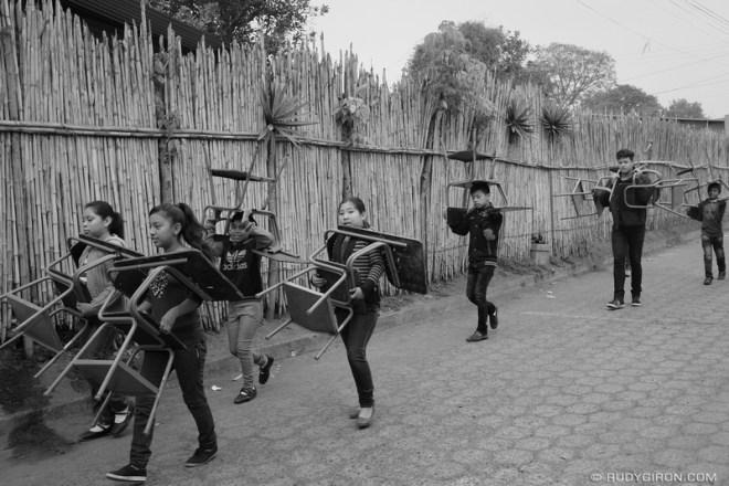 Rudy Giron: Antigua Guatemala &emdash; School Moving in San Miguel Escobar