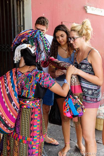 Rudy Giron: Antigua Guatemala &emdash; I sell the colors of the eternal spring