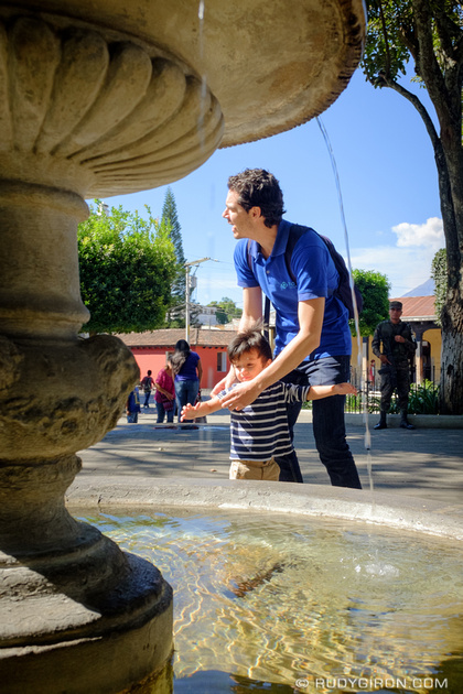 Rudy Giron: Antigua Guatemala &emdash; Enjoying the Winter Season Sunshine
