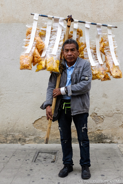 Rudy Giron: Antigua Guatemala &emdash; Portraits of Street Vendors — Potato and Plantain Chips