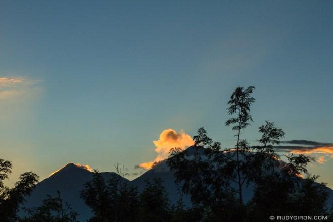 Rudy Giron: Antigua Guatemala &emdash; Antigua Guatemala Sunset